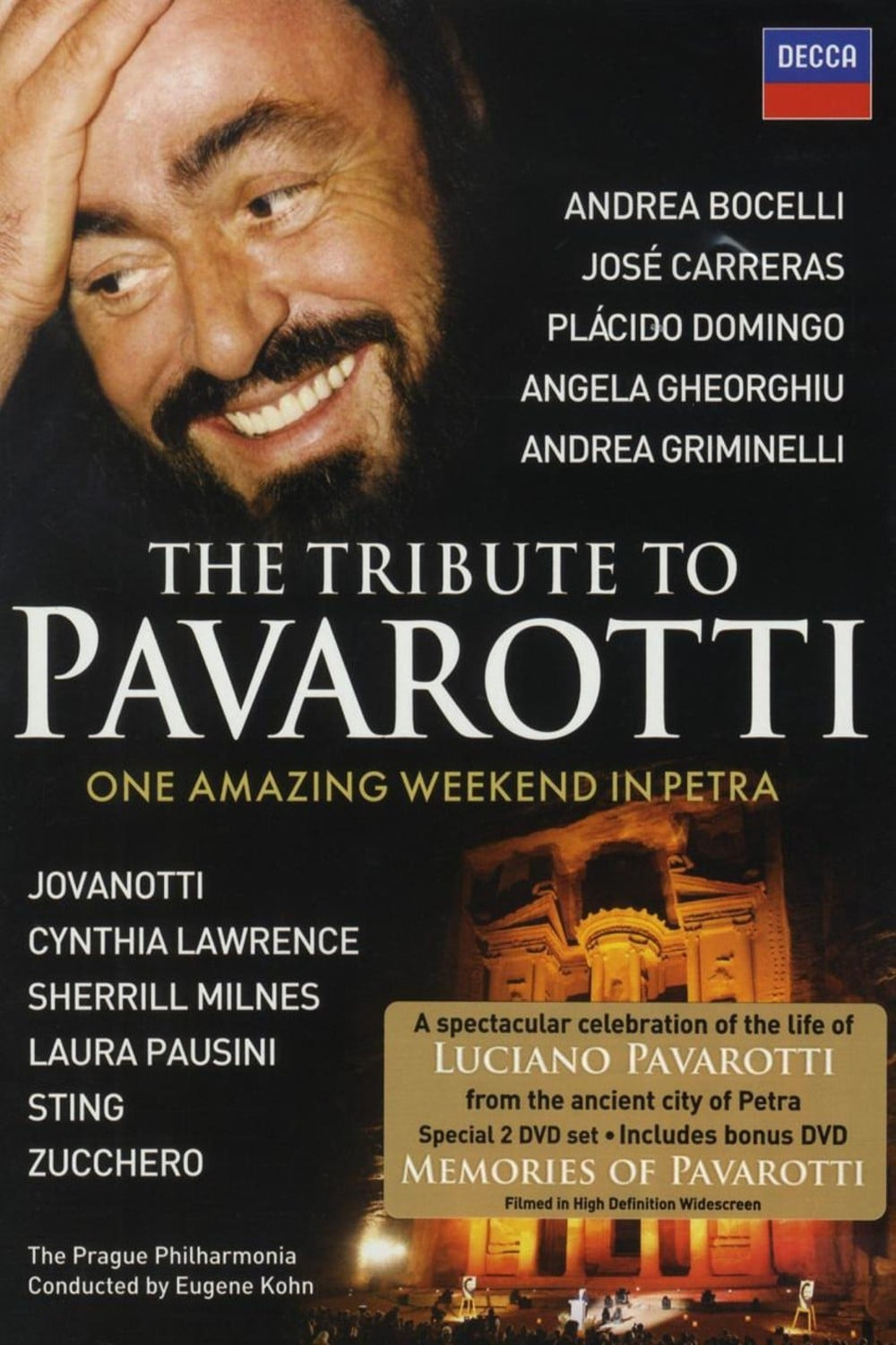 The Tribute to Pavarotti One Amazing Weekend in Petra (2009)