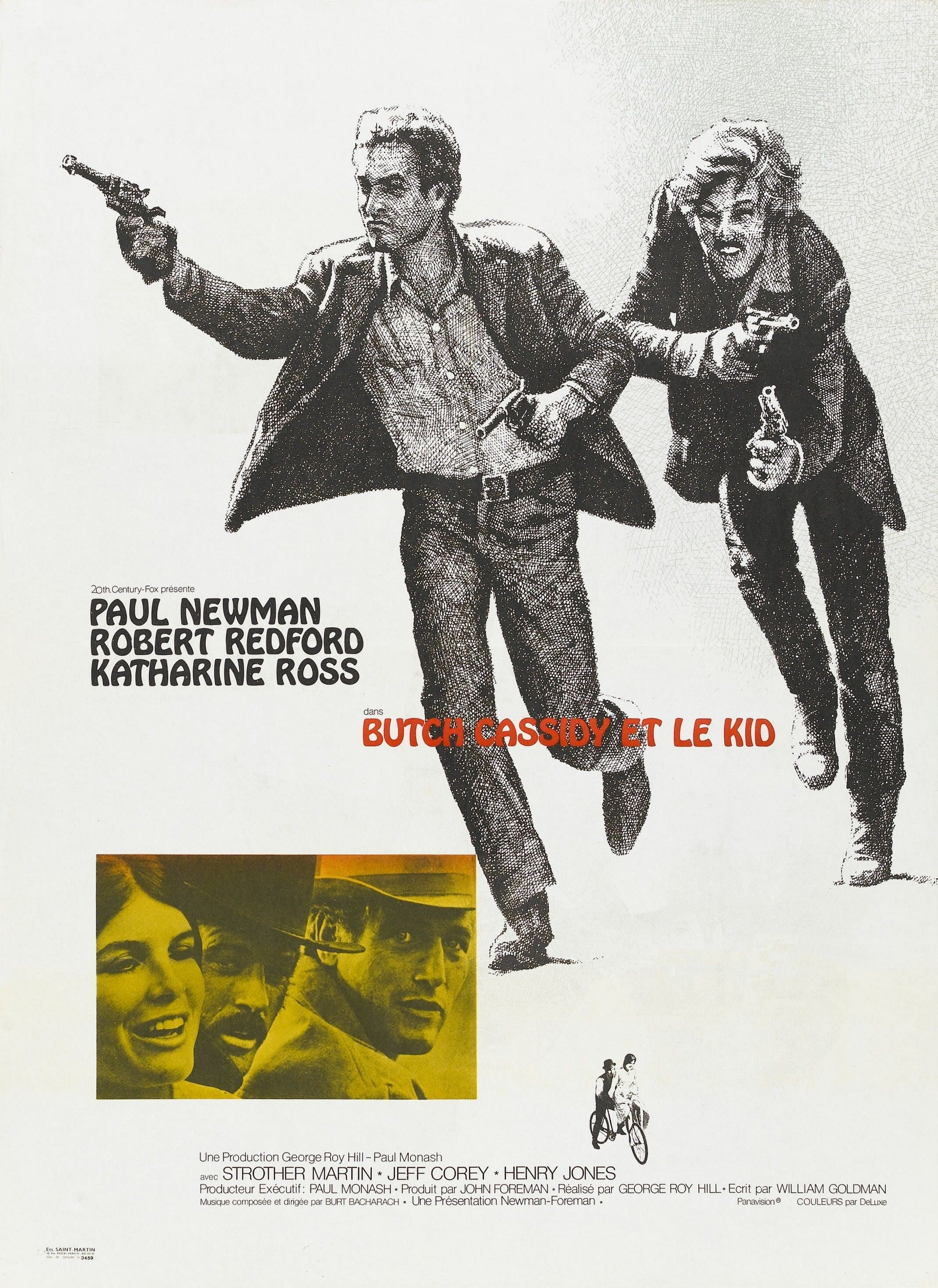 Butch Cassidy et le Kid streaming