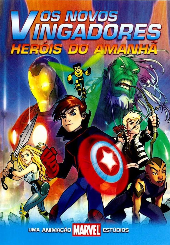 capa Os Novos Vingadores: Os Heróis do Amanhã
