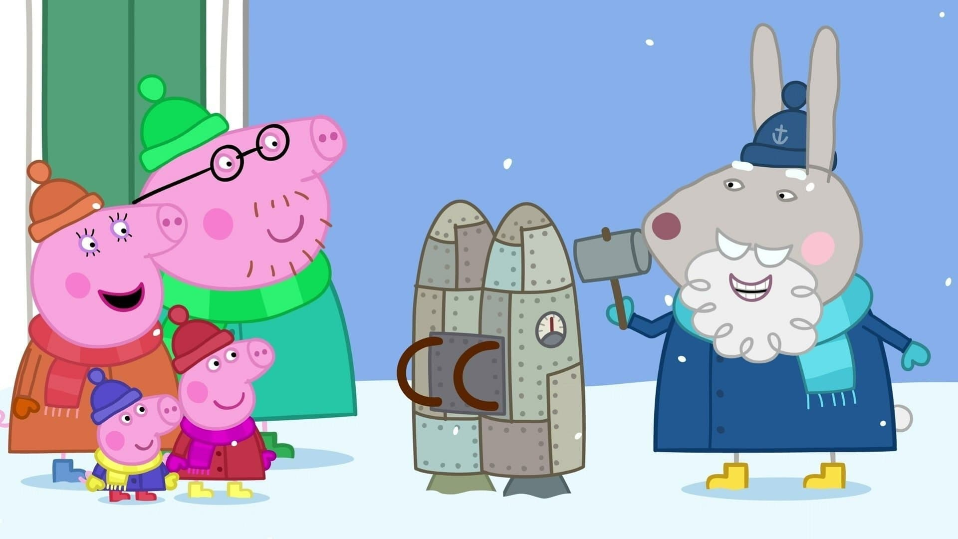 Peppa Pig Season 6 :Episode 37  Grampy Rabbit's Jetpack