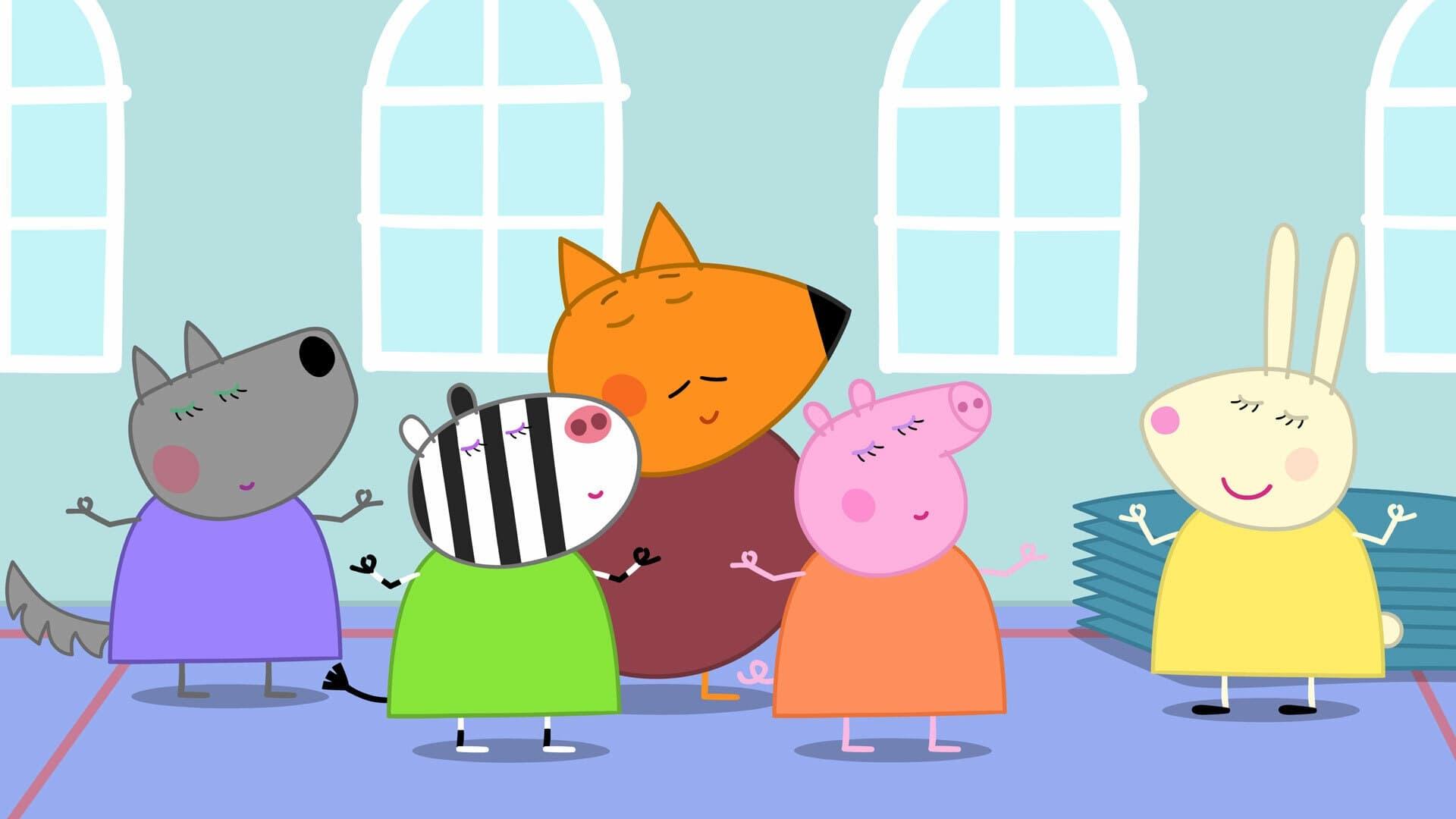 Peppa Pig Season 6 :Episode 5  Miss Rabbit's Relaxation Class