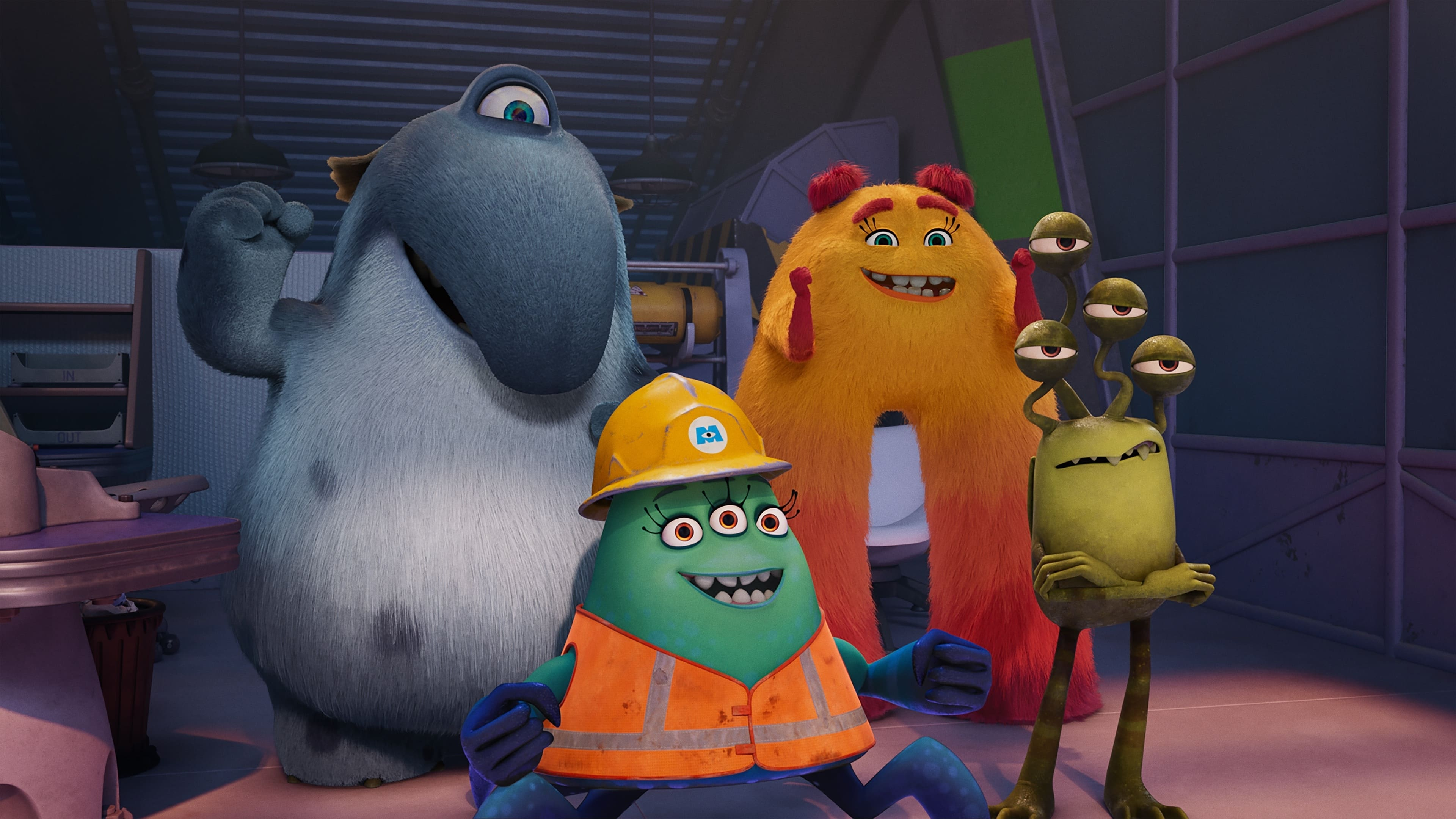 Monsters at Work Season 1 :Episode 10  It's Laughter They're After