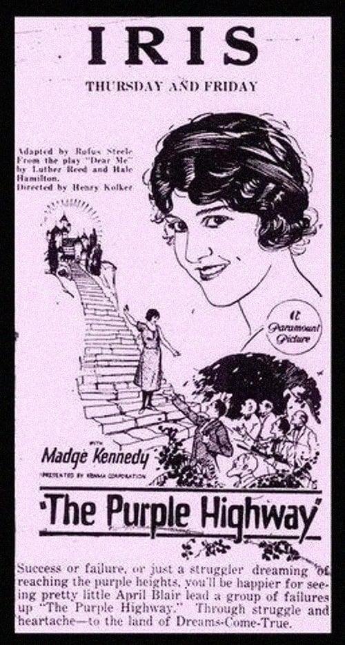 The Purple Highway (1923)