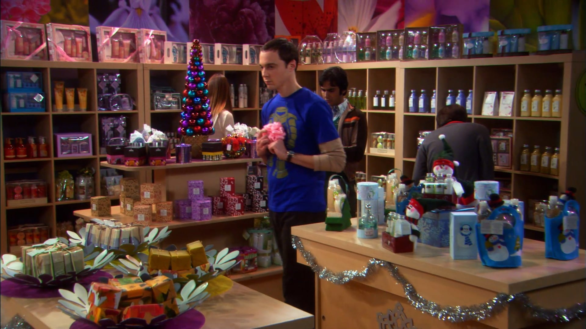 The Big Bang Theory Season 2 :Episode 11  The Bath Item Gift Hypothesis