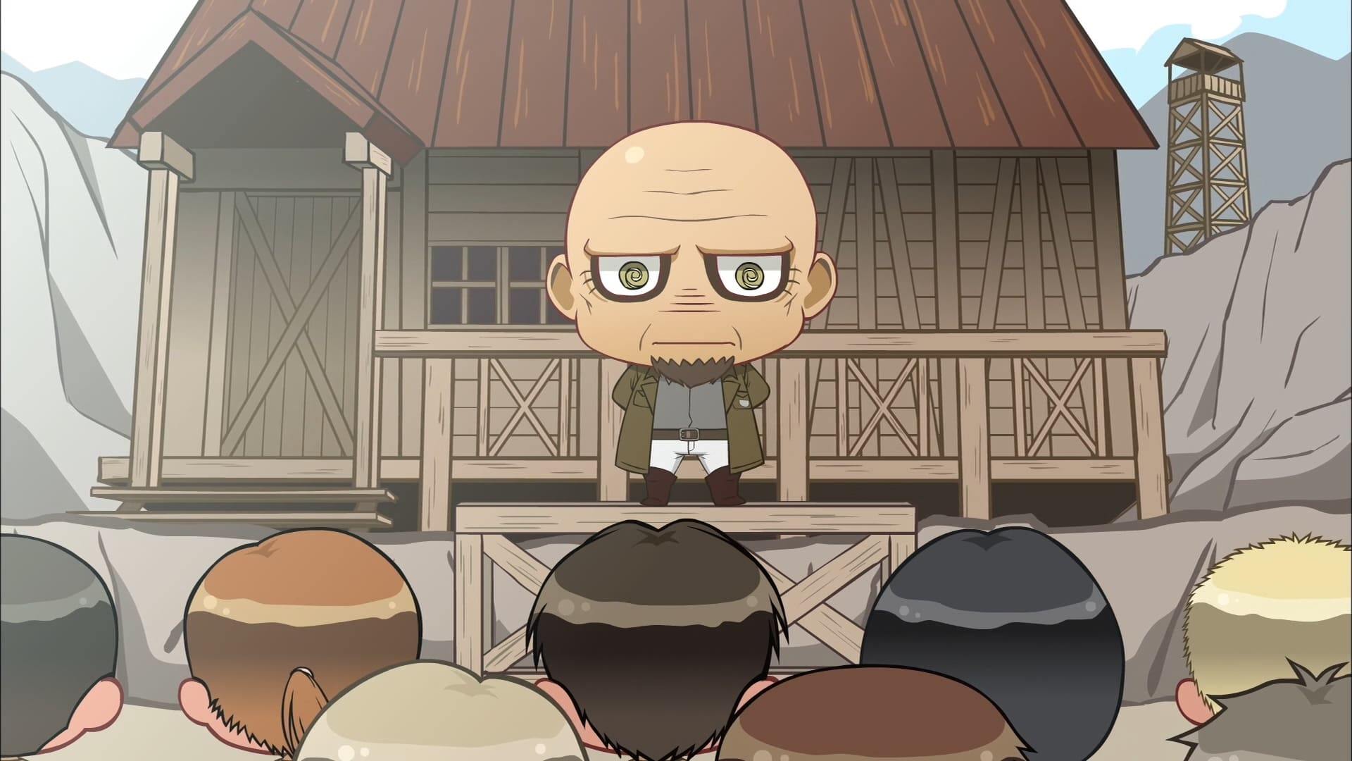 Attack on Titan - Season 0 Episode 2 : Chibi Theatre: Fly, Cadets, Fly!: Day 1 / Day 2