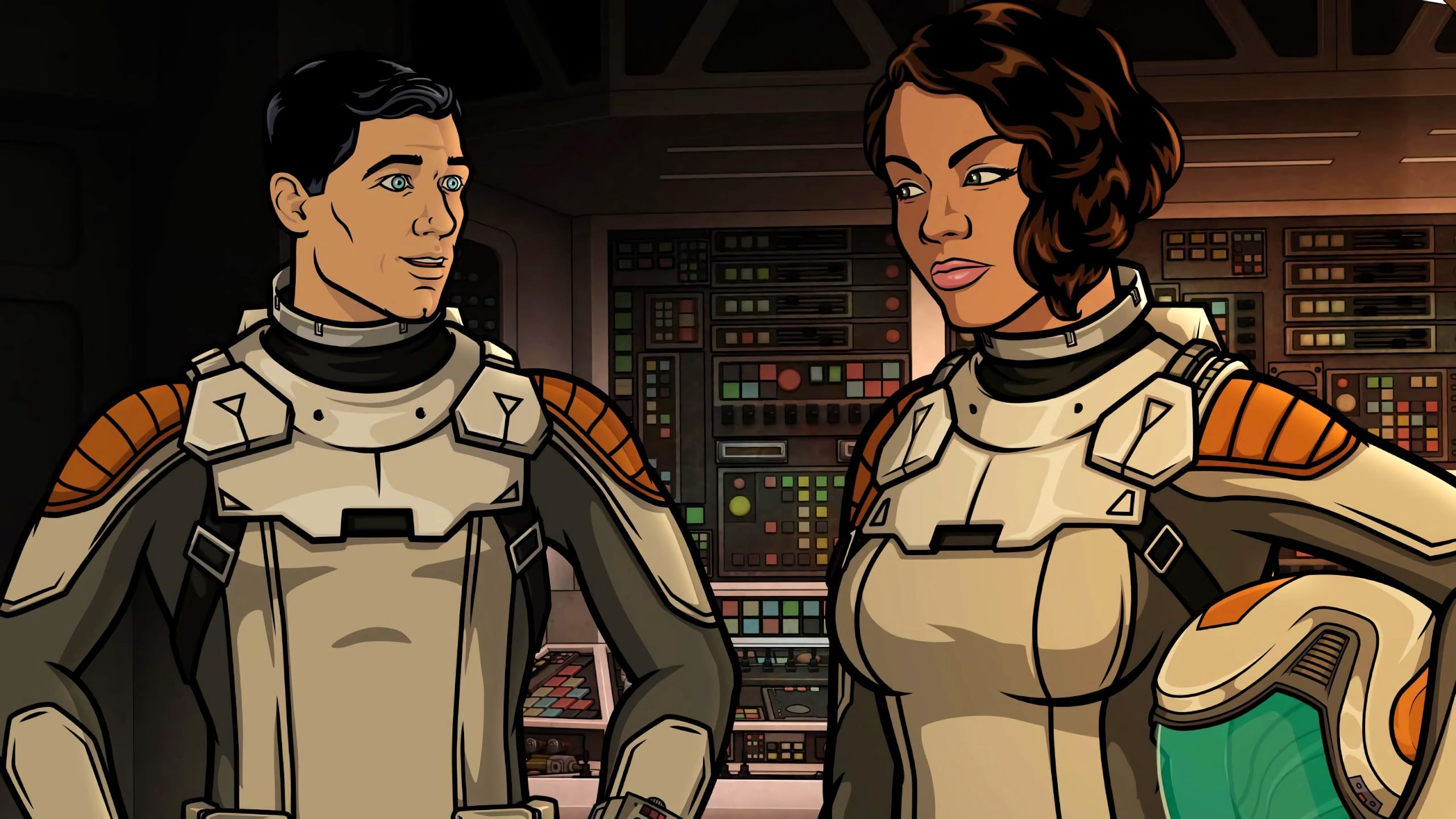 Archer Season 10 :Episode 4  Dining with the Zarglorp