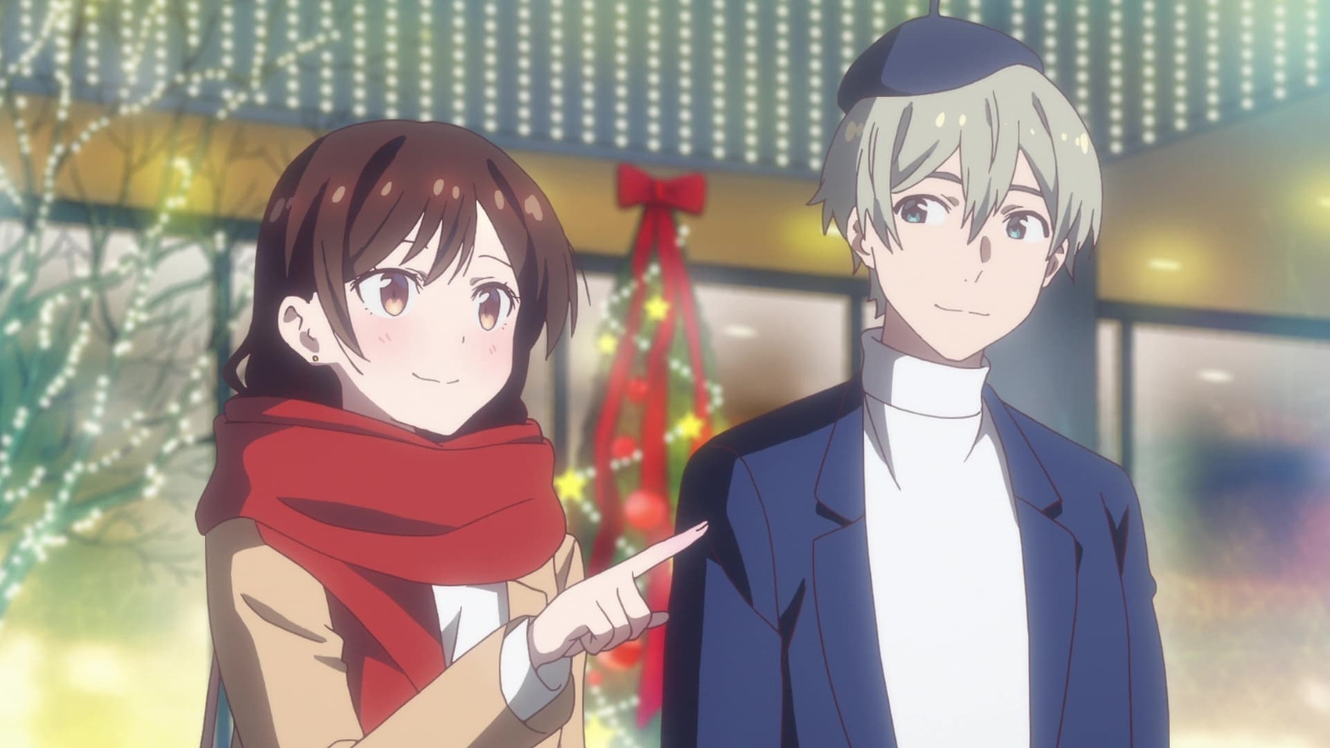 Rent-a-Girlfriend Season 1 :Episode 8  Christmas and Girlfriend