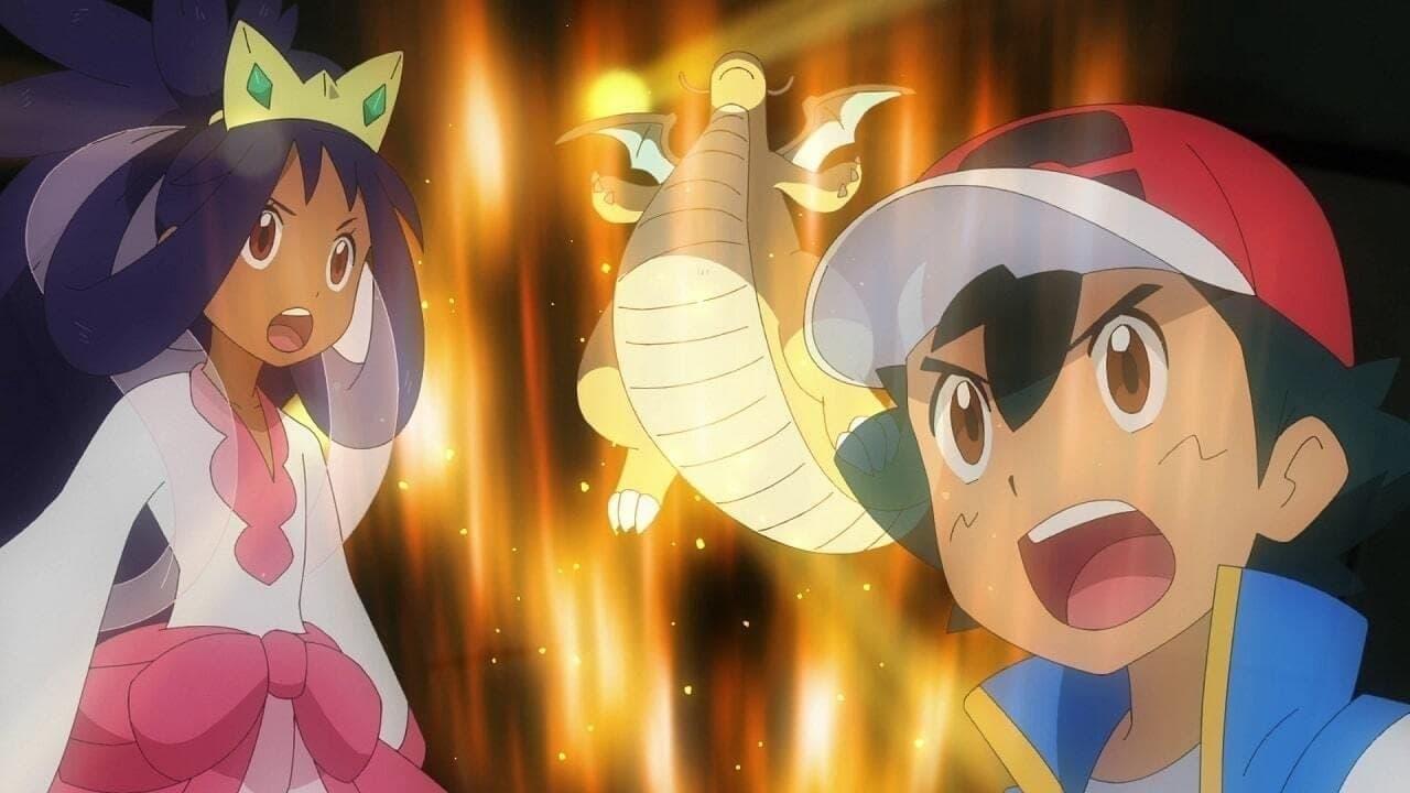 Pokémon Season 24 :Episode 17  Dragon Battle! Satoshi vs Iris!!