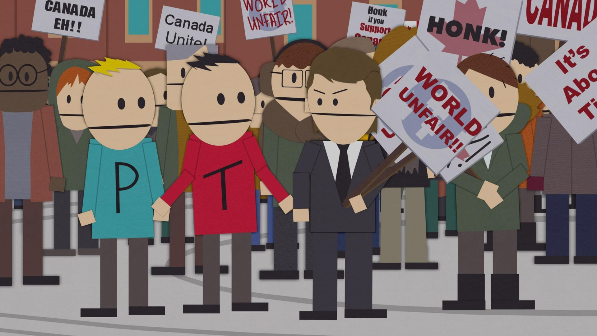 South Park Season 12 :Episode 4  Canada on Strike