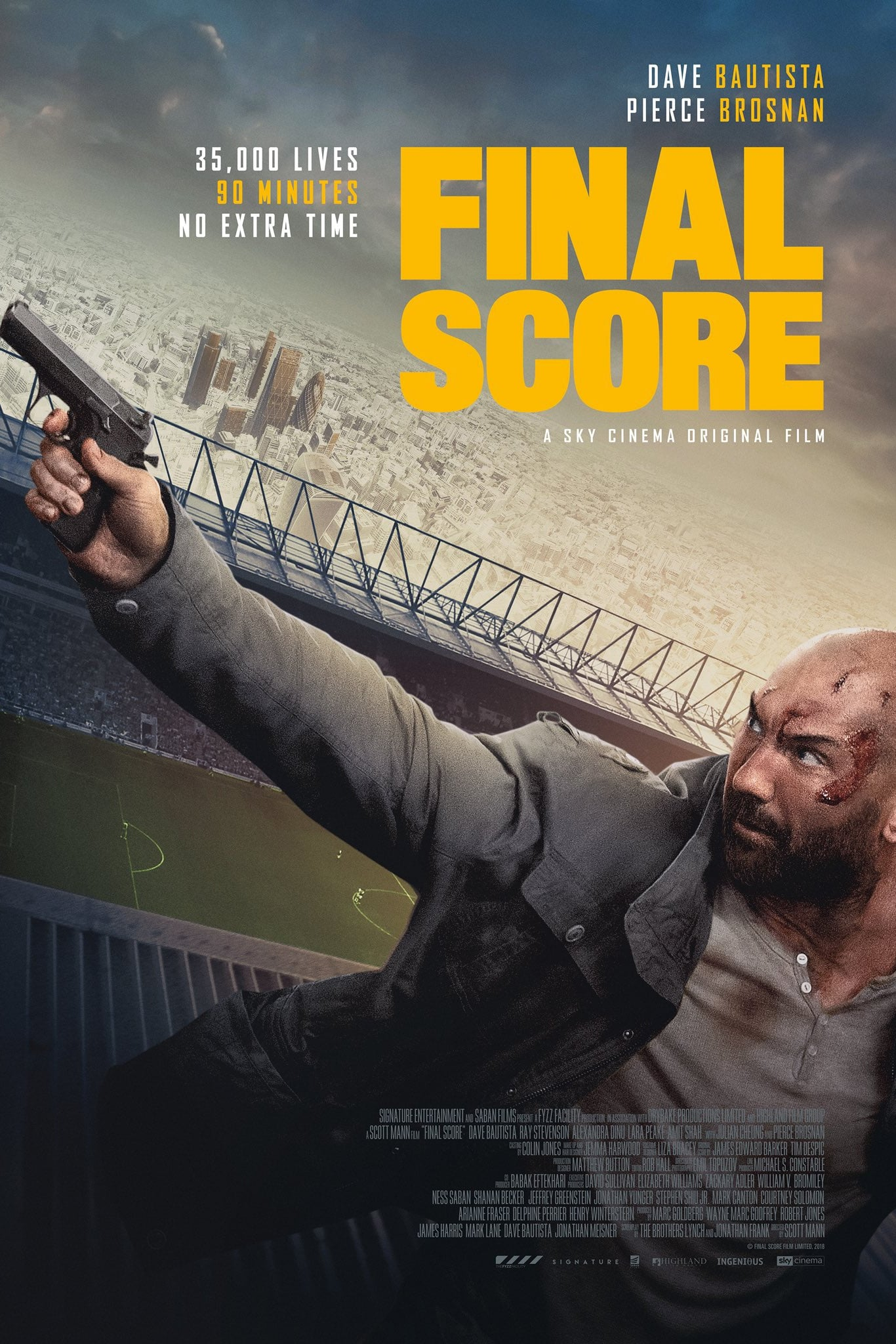 Poster and image movie Film Final Score - Final Score 2018