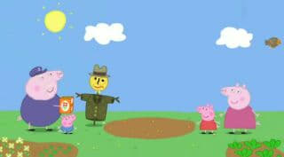 Peppa Pig Season 2 :Episode 10  Mr Scarecrow