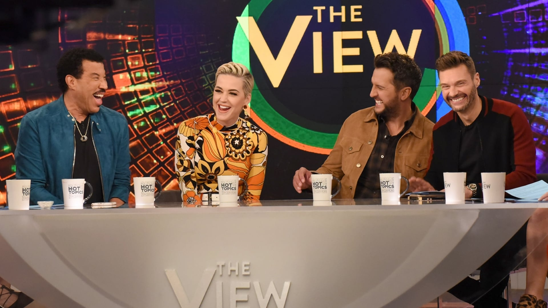 The View Season 22 :Episode 114  Ryan Seacrest, Lionel Richie, Katy Perry, and Luke Bryan