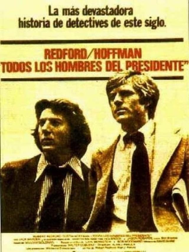 Póster Todos los hombres del presidente