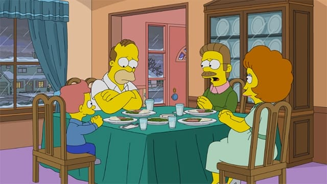 The Simpsons Season 32 :Episode 16  Manger Things
