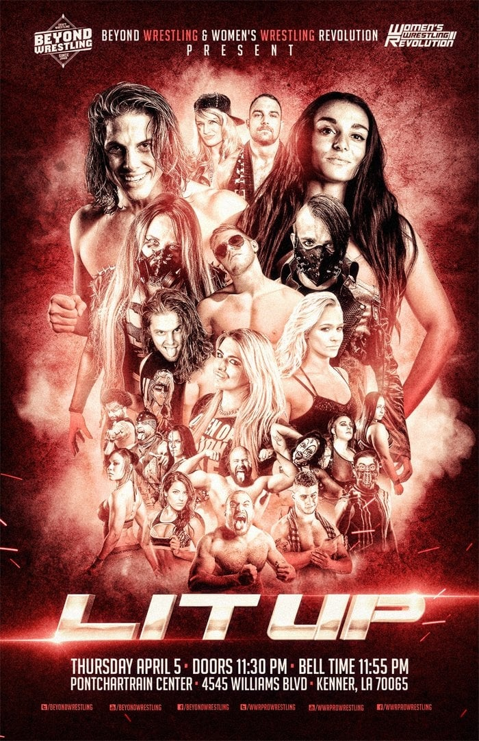 "Ver Beyond Wrestling & WWR Present ""Lit Up"" Online HD Español ()"