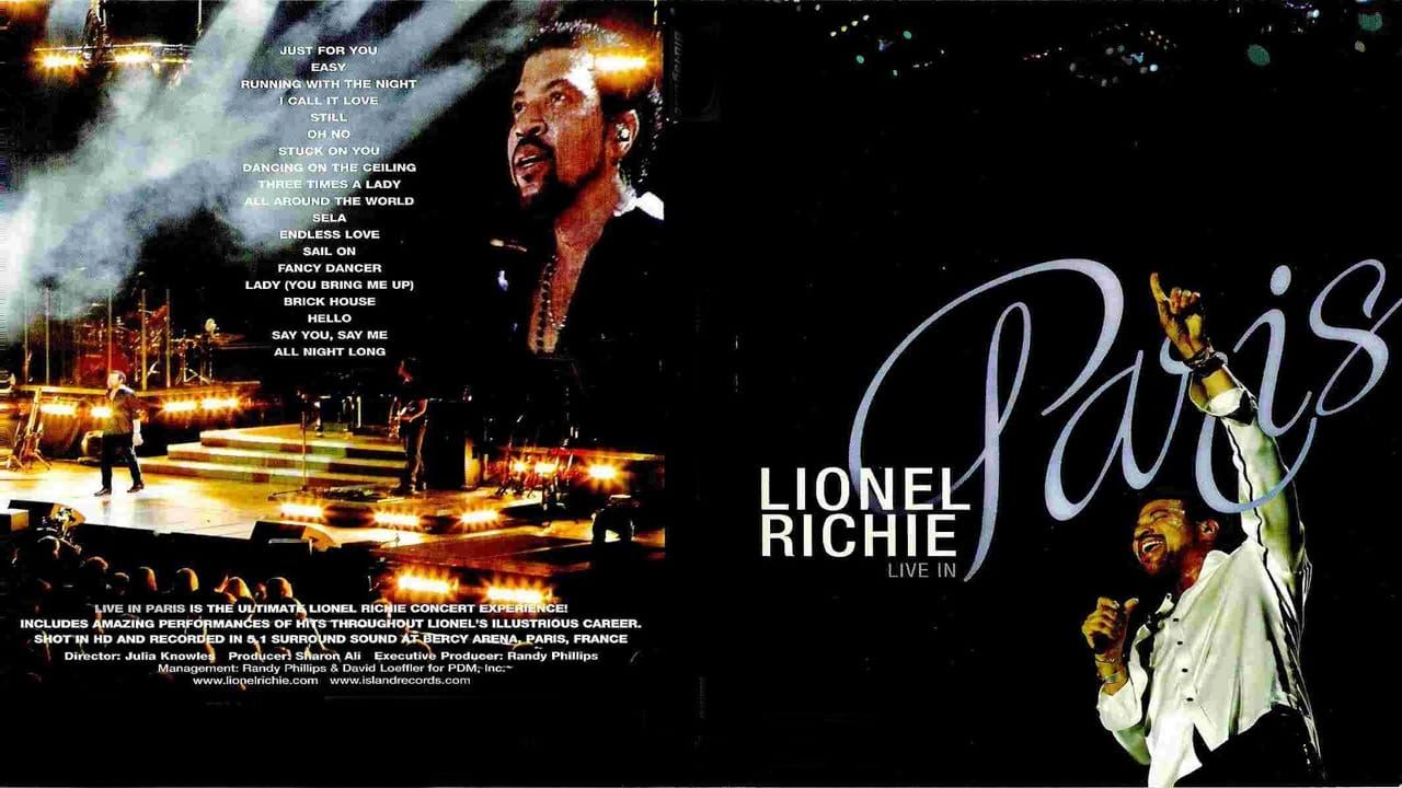 watch lionel richie live in paris movies online streaming film en streaming. Black Bedroom Furniture Sets. Home Design Ideas