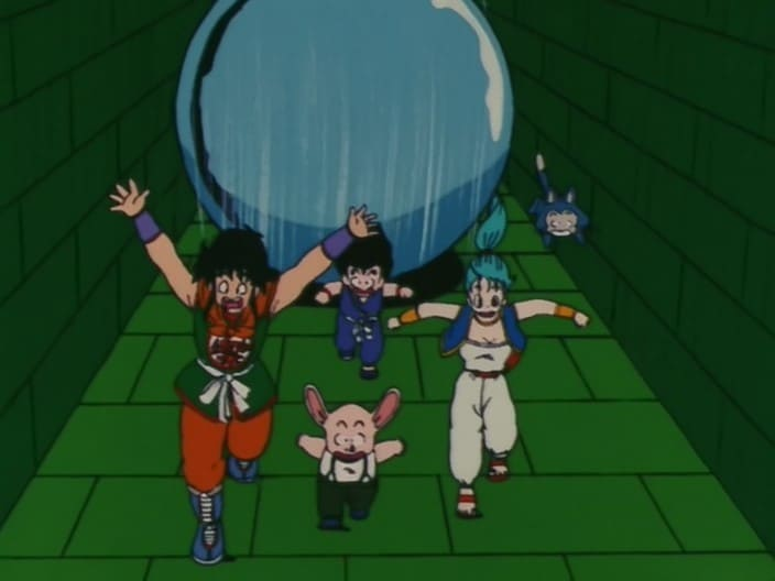 Dragon Ball Season 1 :Episode 11  The Penalty is Pinball