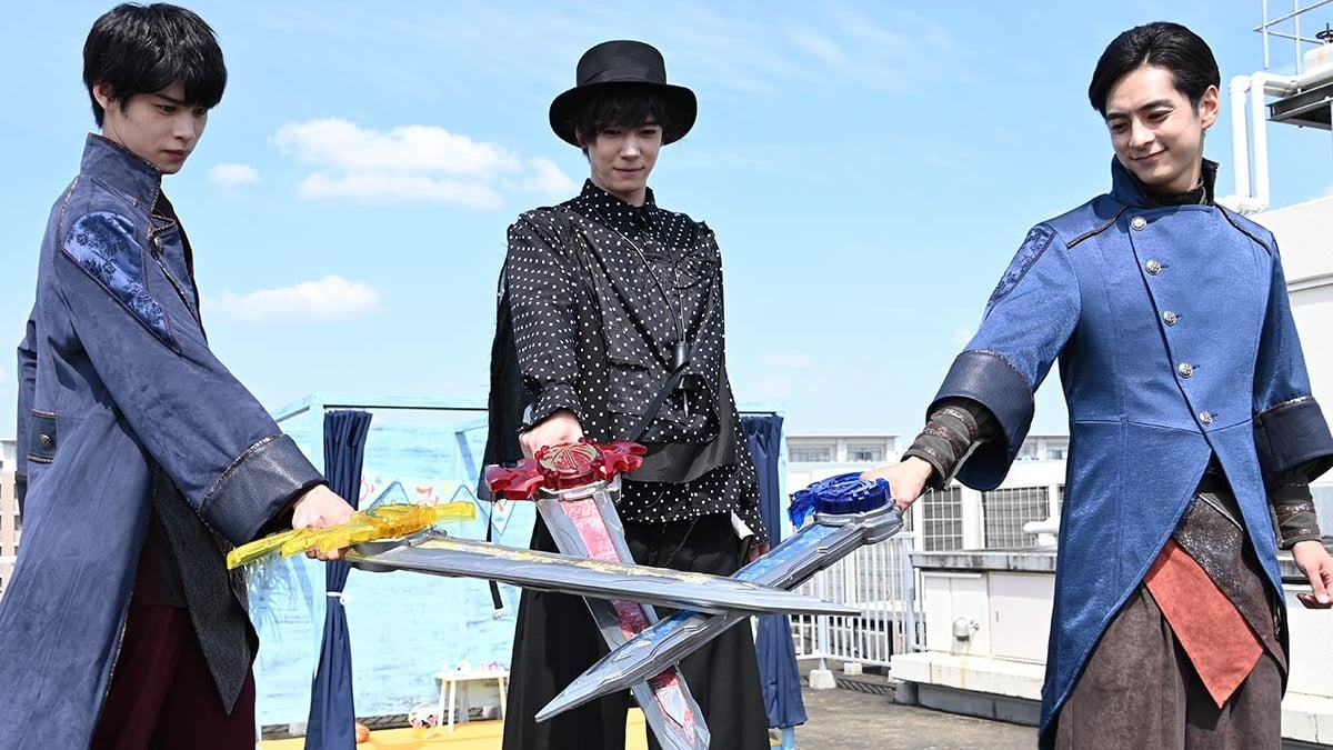 Kamen Rider Season 31 :Episode 10  Joining Feelings By Crossing Swords