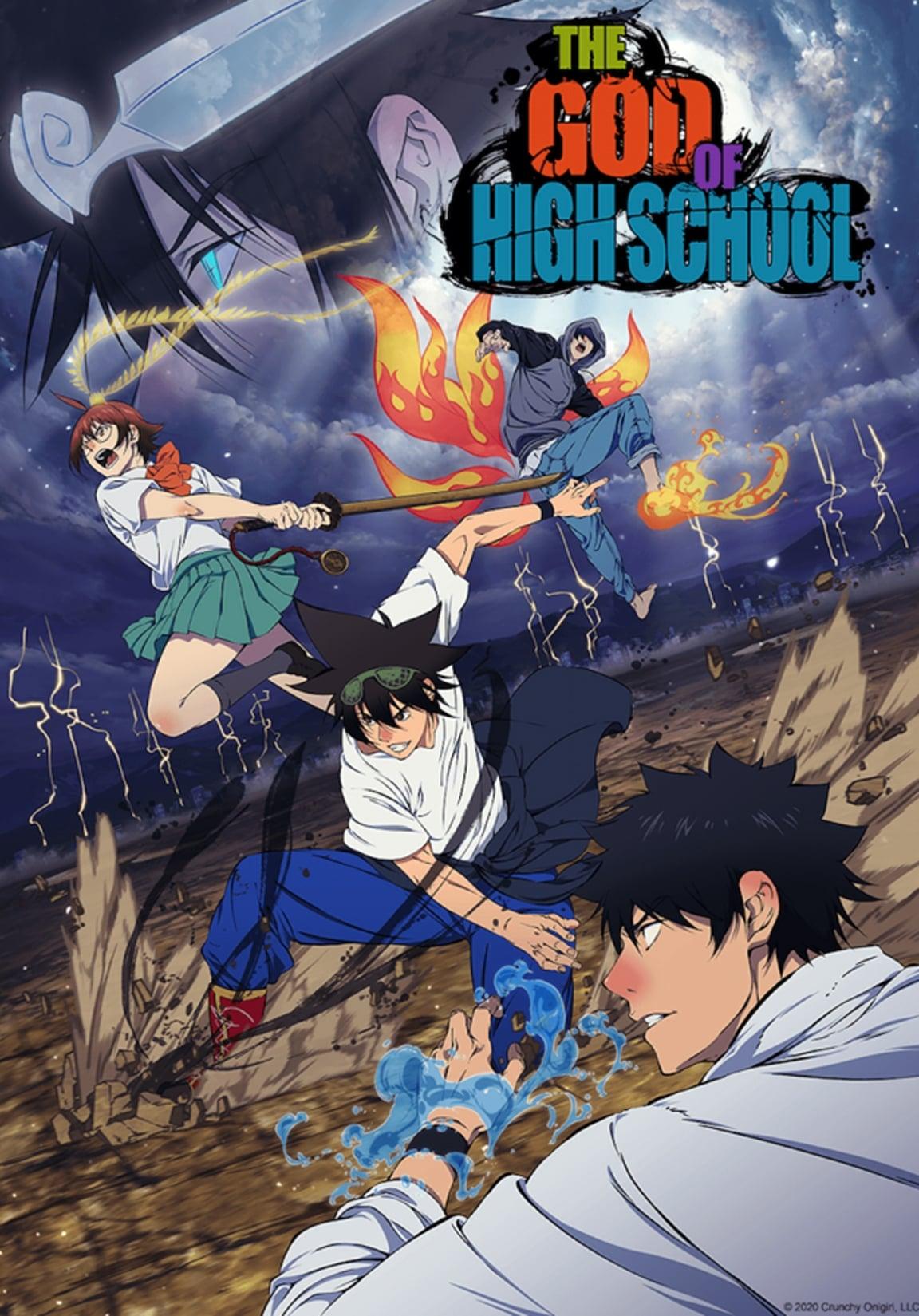 Nonton anime The God of High School Sub Indo