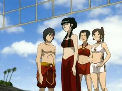 Avatar - Der Herr der Elemente Season 3 :Episode 5  Am Strand