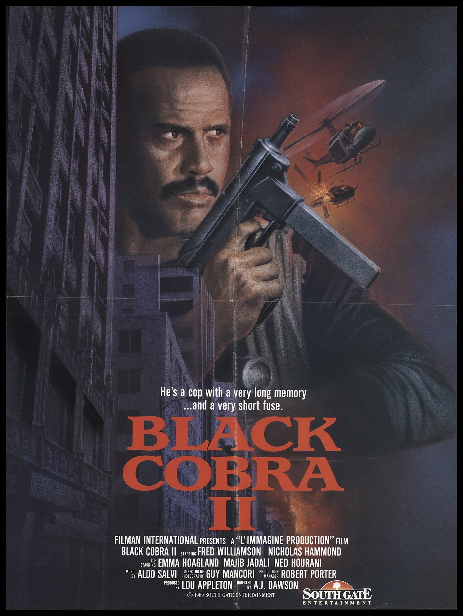 The Black Cobra 2 on FREECABLE TV