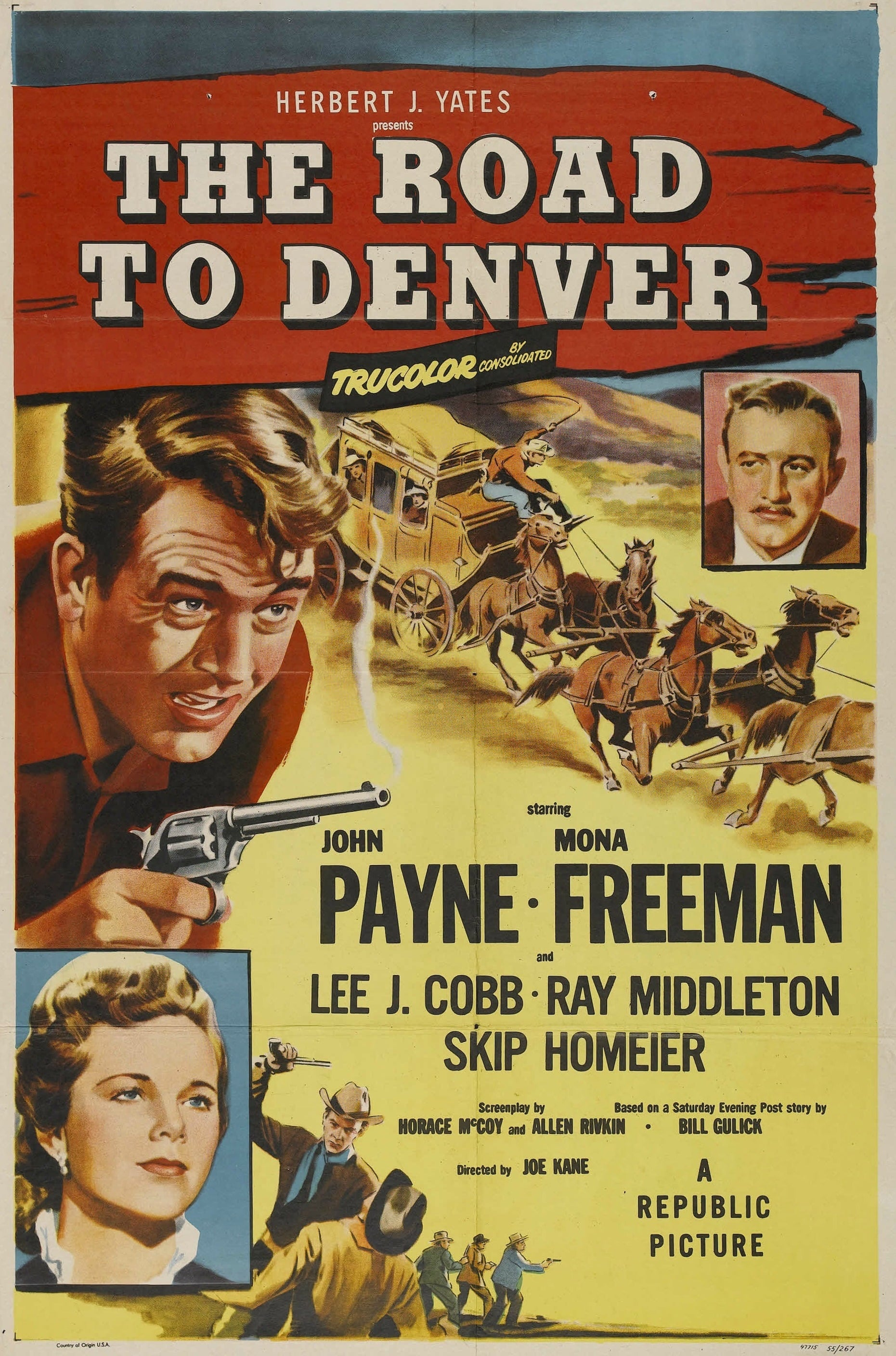 The Road to Denver (1955)