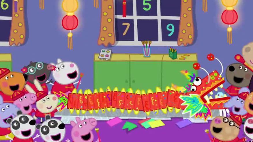 Peppa Pig Season 6 :Episode 2  Chinese New Year