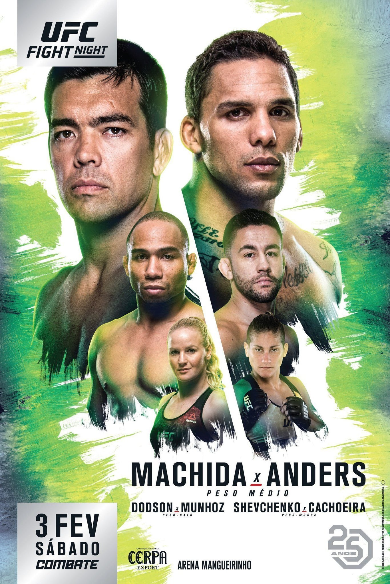 Ver UFC Fight Night 125: Machida vs. Anders Online HD Español ()