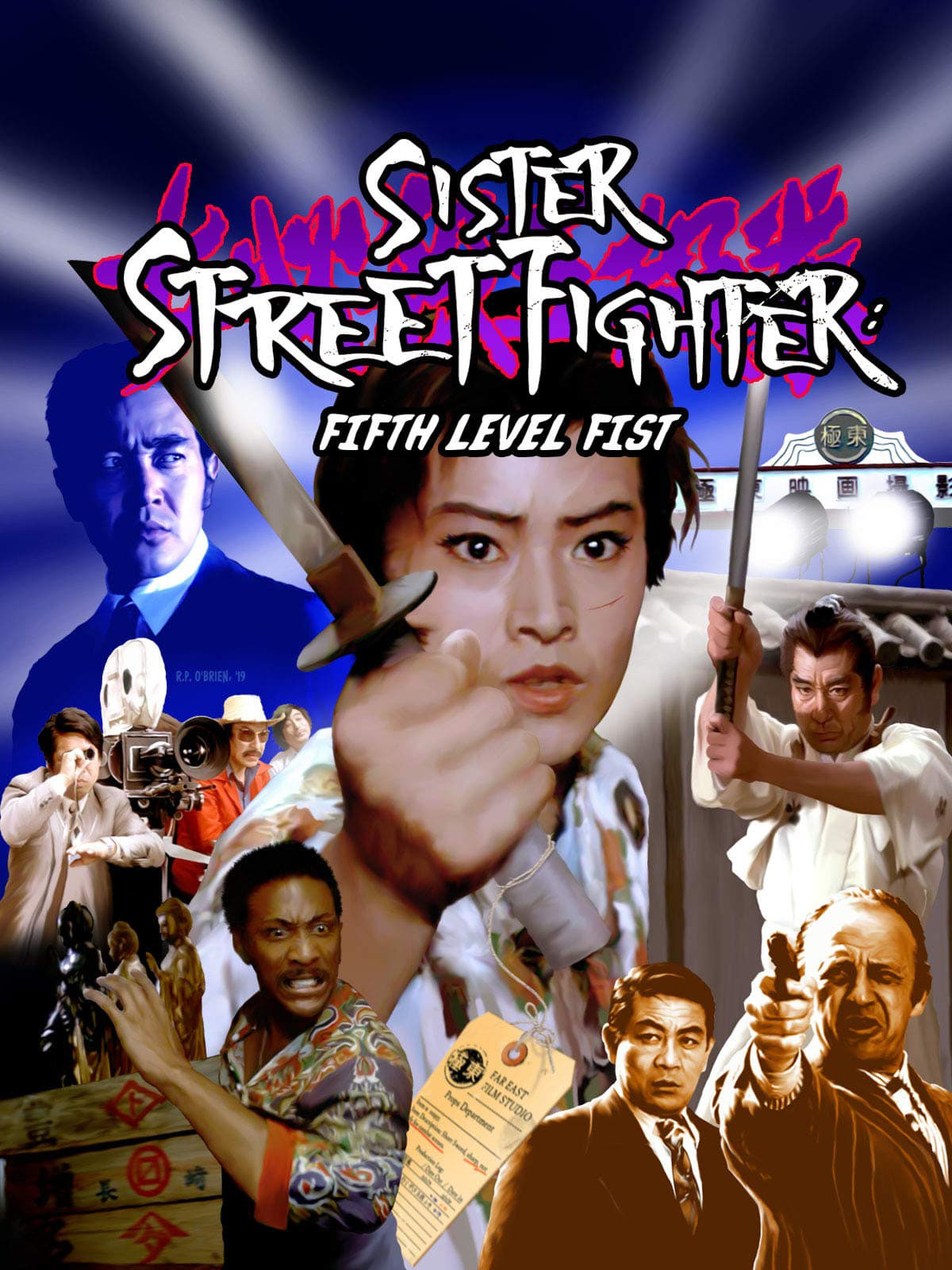 Sister Street Fighter: Fifth Level Fist on FREECABLE TV