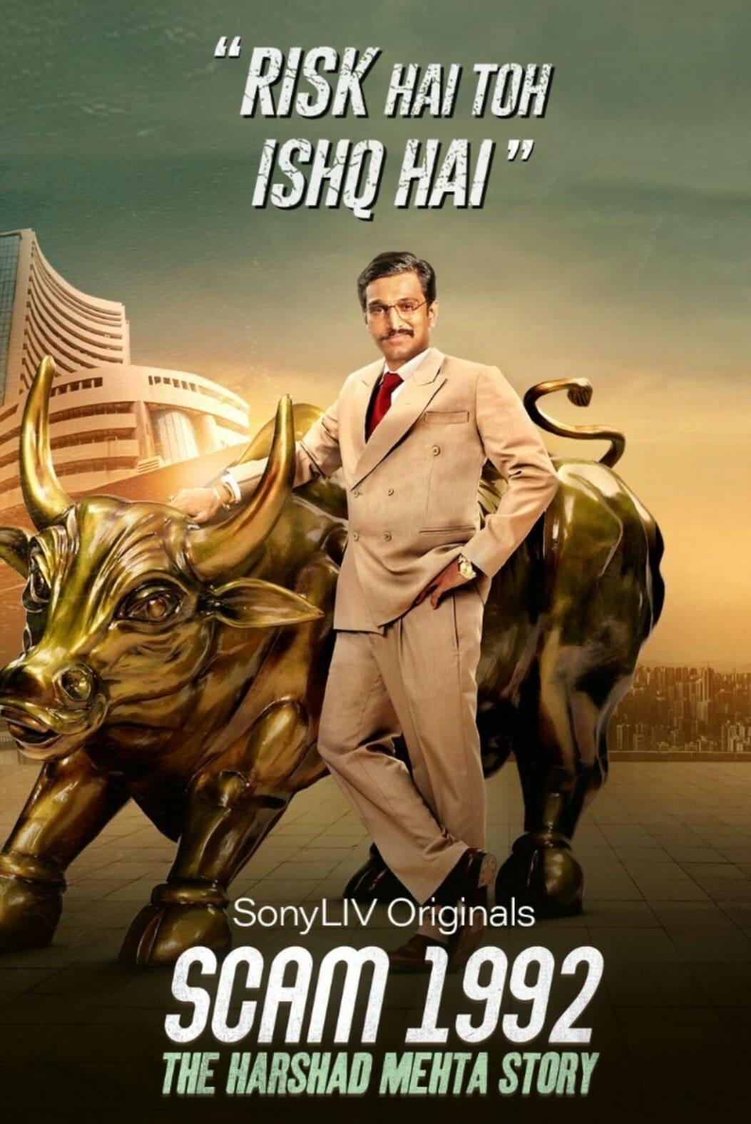 Scam 1992 the Harshad Mehta Story (2020) Hindi Season 1 Sony Live Watch Free HD