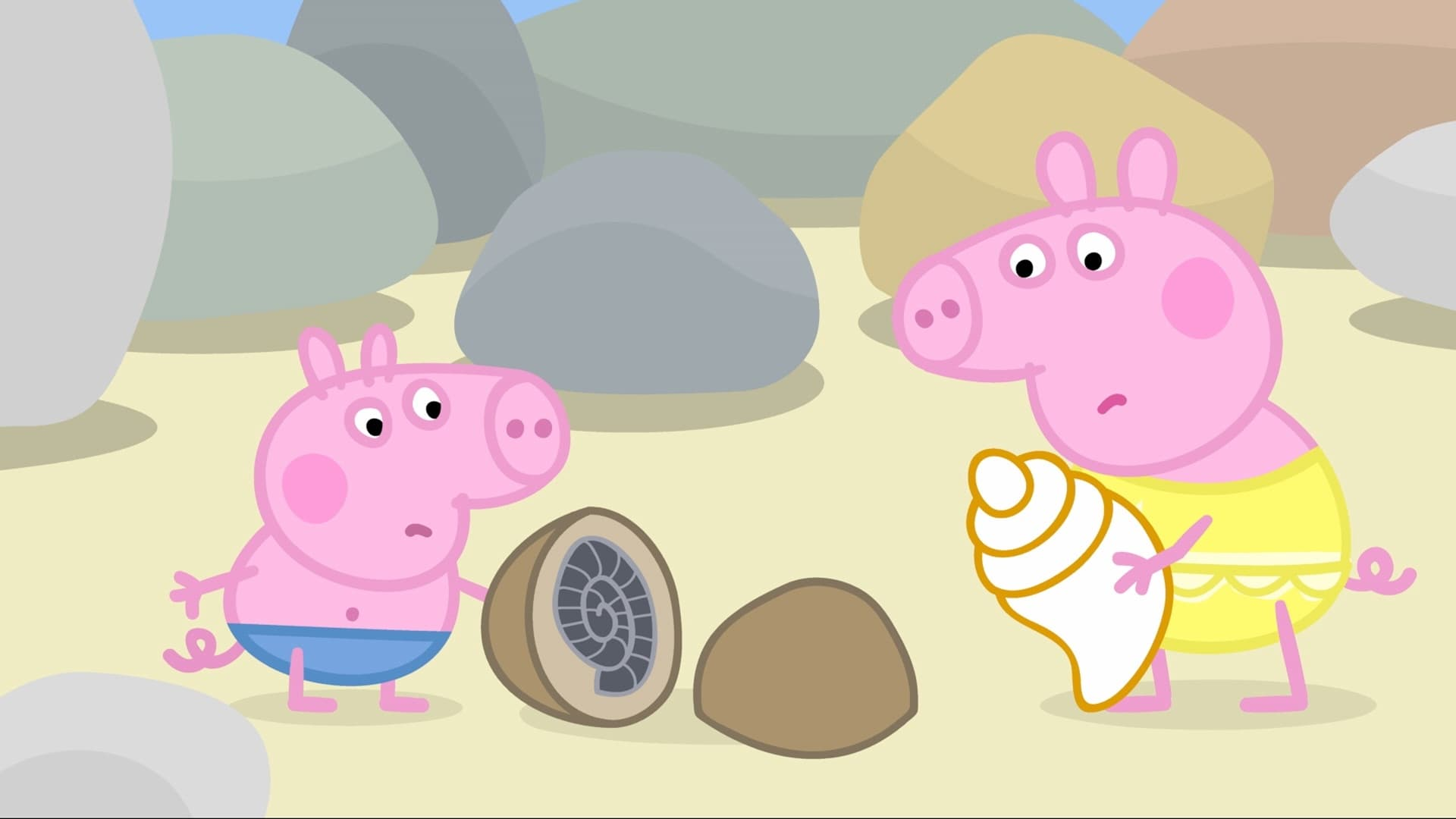 Peppa Pig Season 2 :Episode 7  Rock Pools