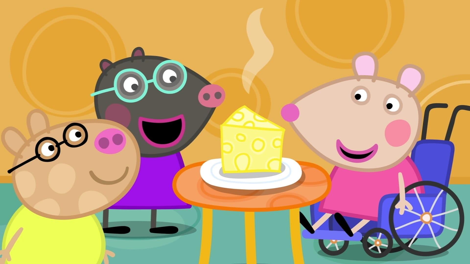 Peppa Pig Season 6 :Episode 51  Mandy Mouse's Birthday