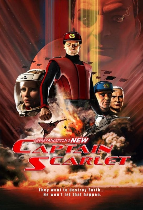 Gerry Anderson's New Captain Scarlet TV Shows About Aviation