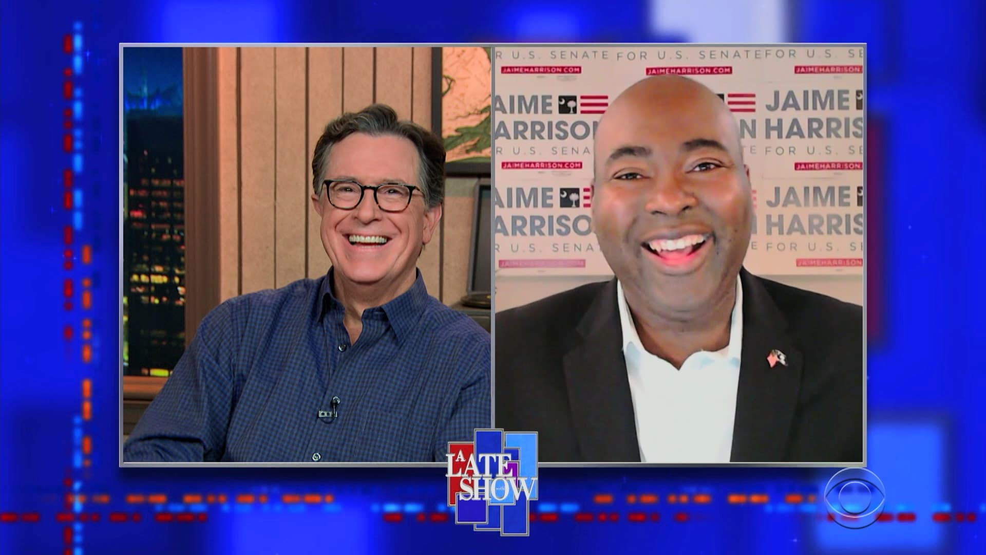 The Late Show with Stephen Colbert Season 6 :Episode 26  Jaime Harrison, Elvis Costello