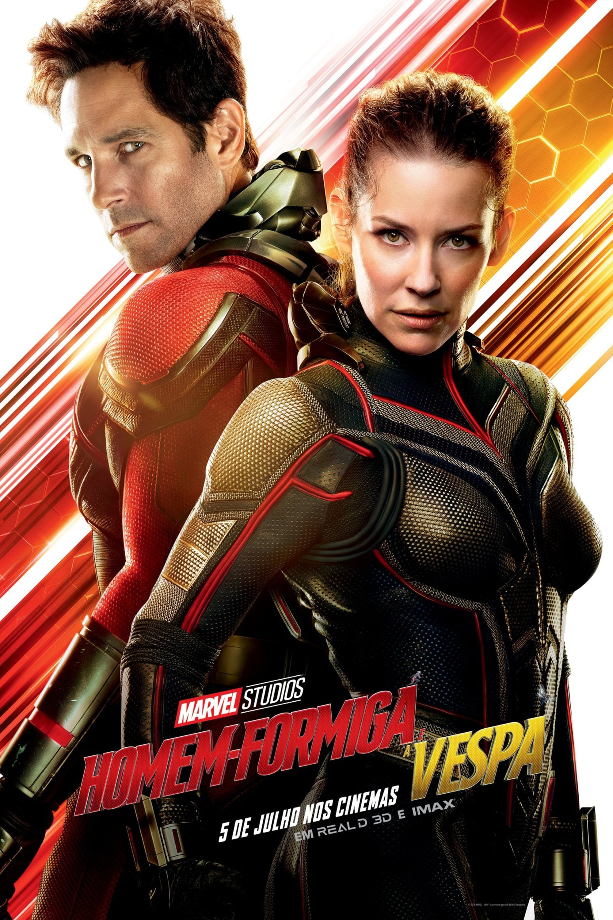 Poster and image movie Film Omul Furnica si Viespea - Omul-Furnică și Viespea - Ant-Man and the Wasp 2018