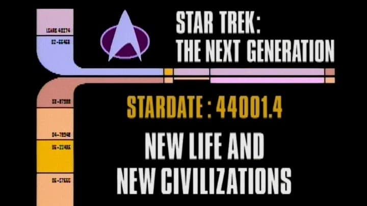 Archival Mission Log: Year Four - New Life and New Civilizations-Azwaad Movie Database