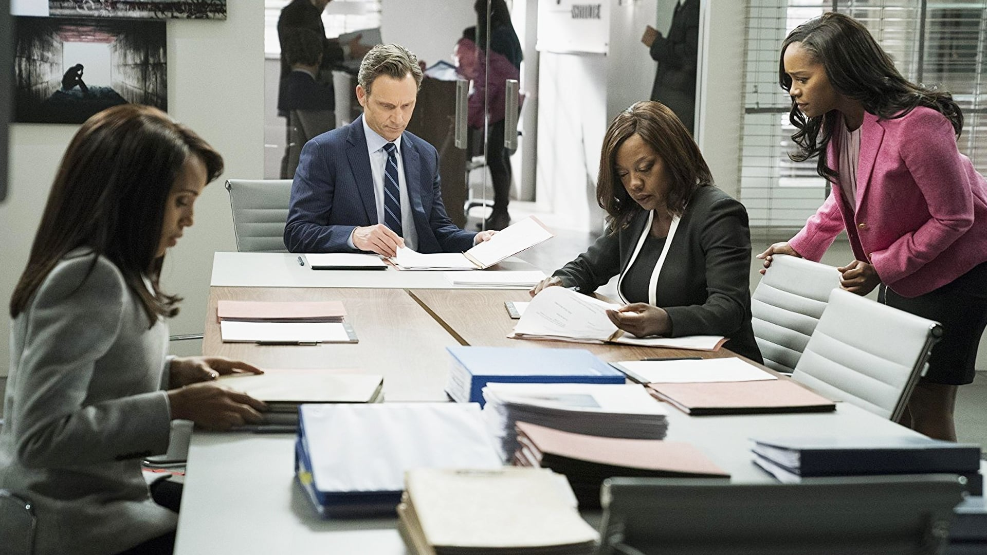 Scandal Season 7 :Episode 12  Allow Me to Reintroduce Myself (I)