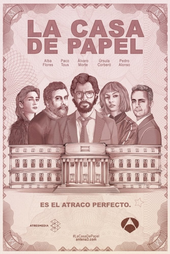 La Casa de Papel – Todas as Temporadas Dublado / Legendado (2017)