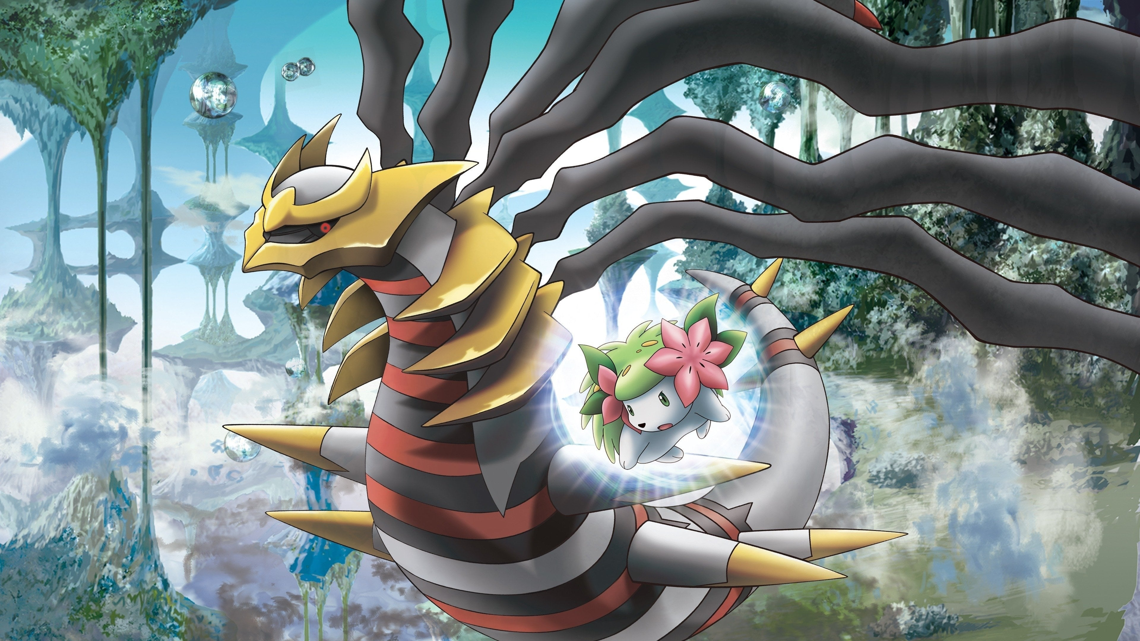 Pokémon: Giratina and the Sky Warrior Movie