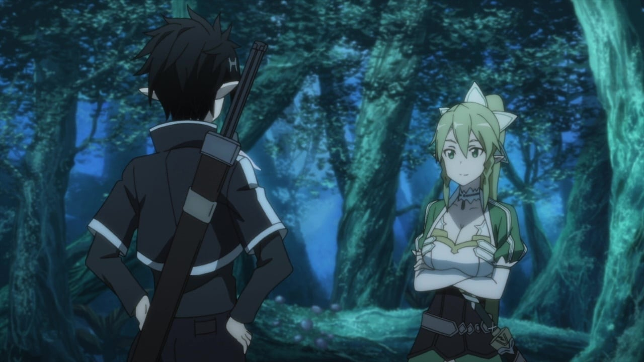 Sword Art Online Season 1 :Episode 17  The Captive Queen