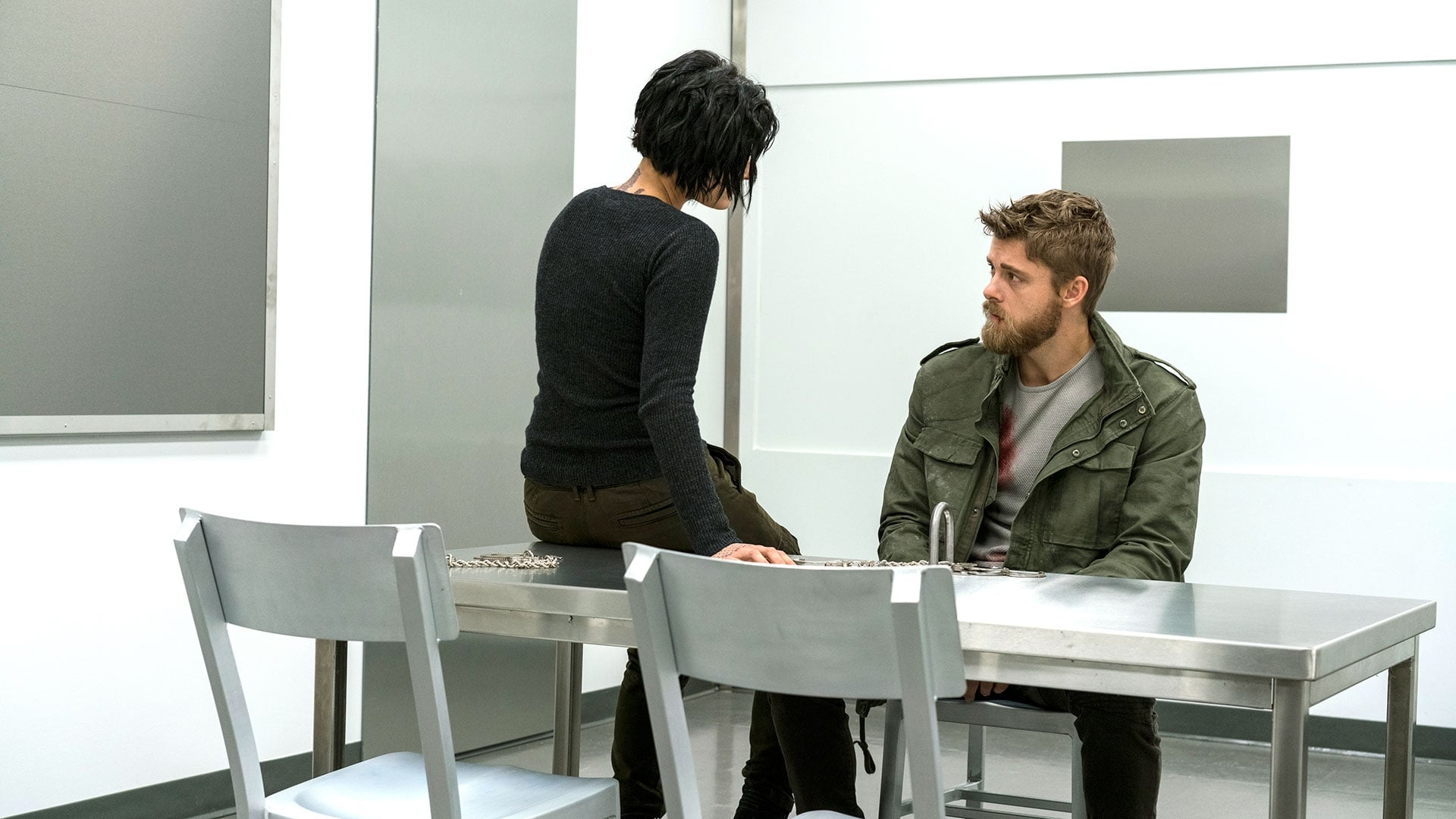 Blindspot Season 2 :Episode 10  Nor I, Nigel, AKA Leg in Iron