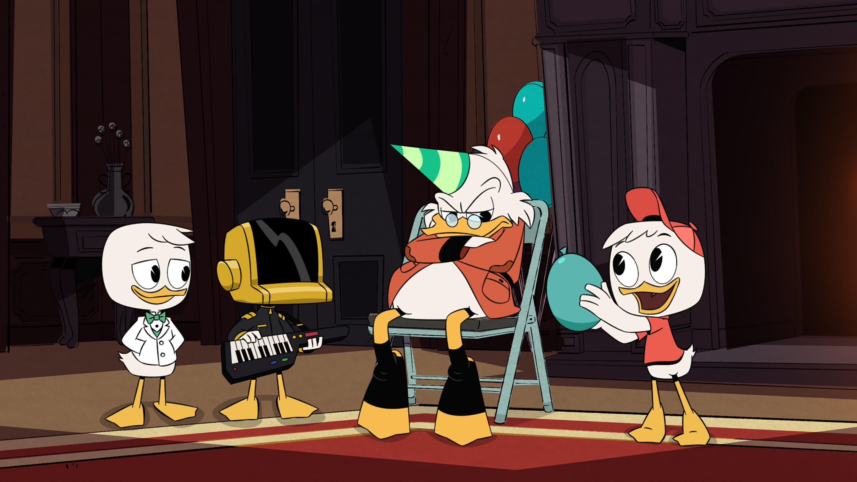 DuckTales Season 1 :Episode 13  McMystery at McDuck McManor!