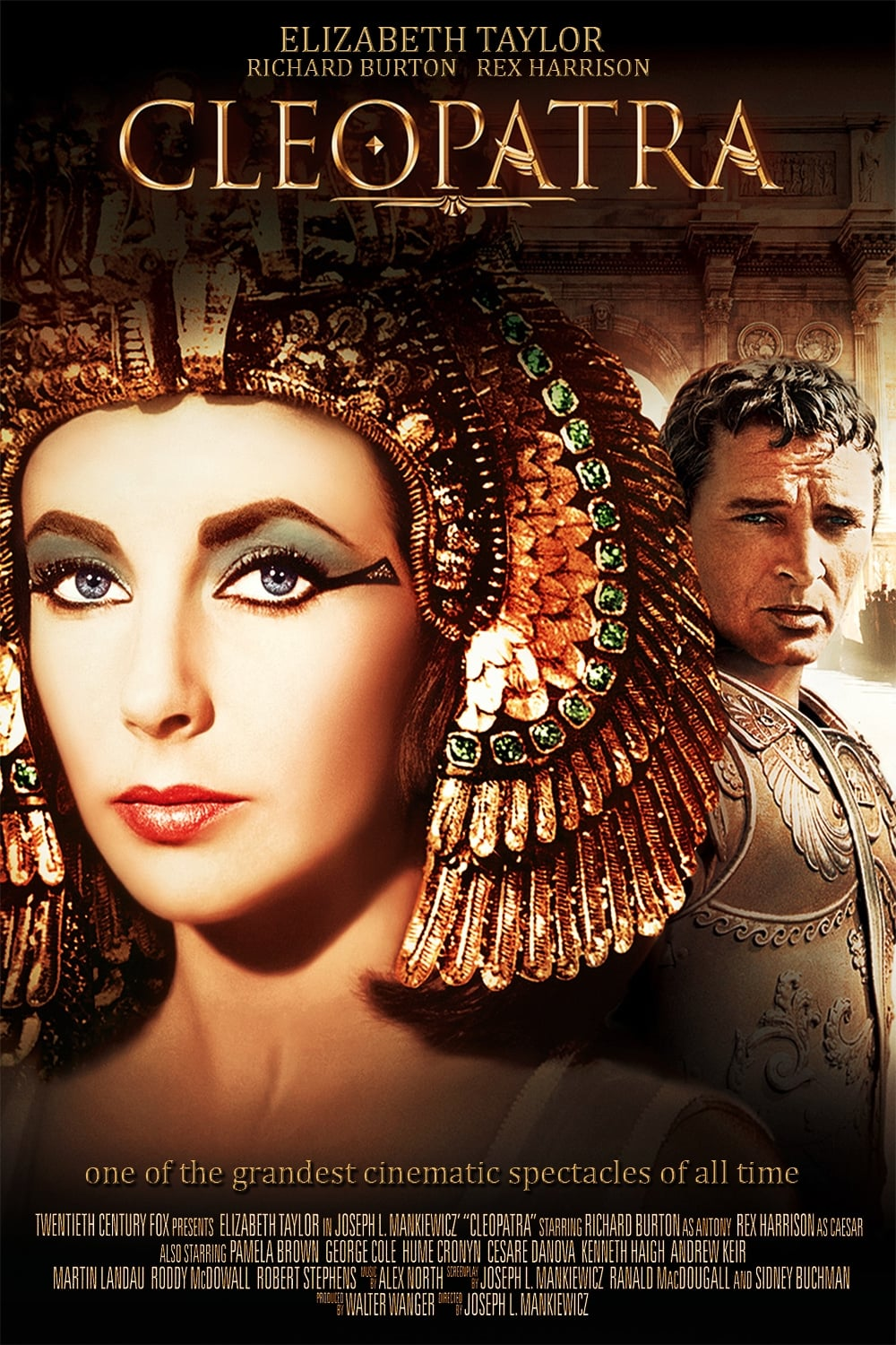 Cleopatra (1963) - Posters — The Movie Database (TMDb)