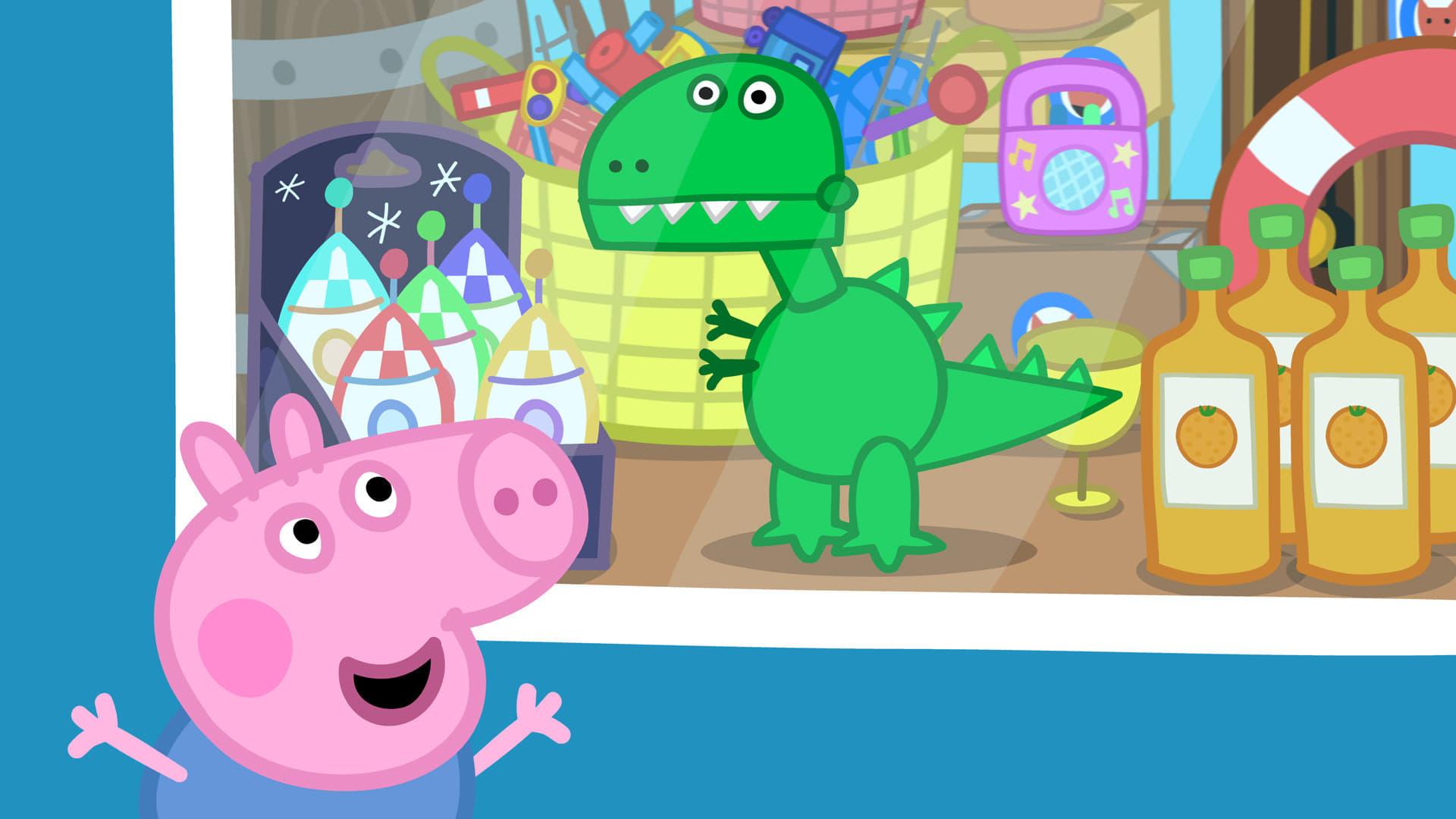 Peppa Pig Season 4 :Episode 19  George's New Dinosaur