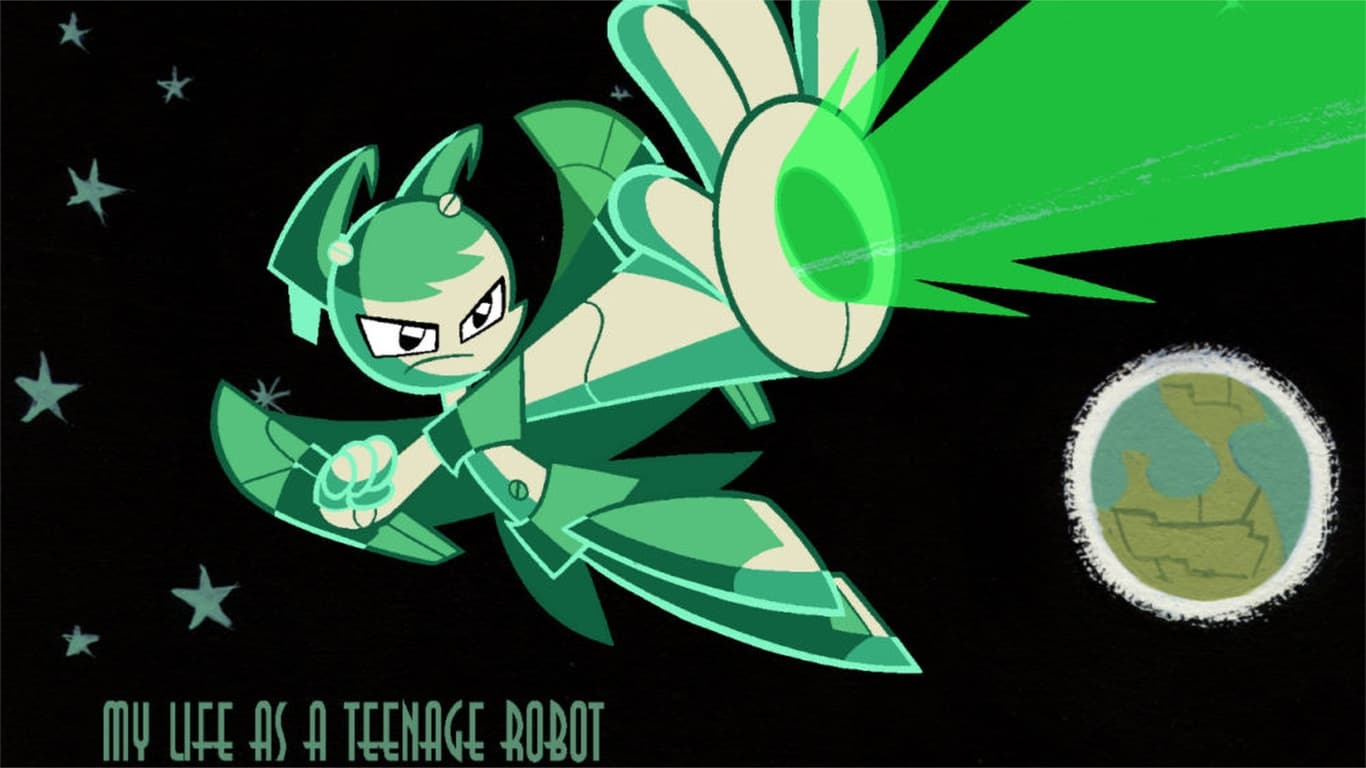 My Life As A Teenage Robot Tv Series 2003 2005 Backdrops The