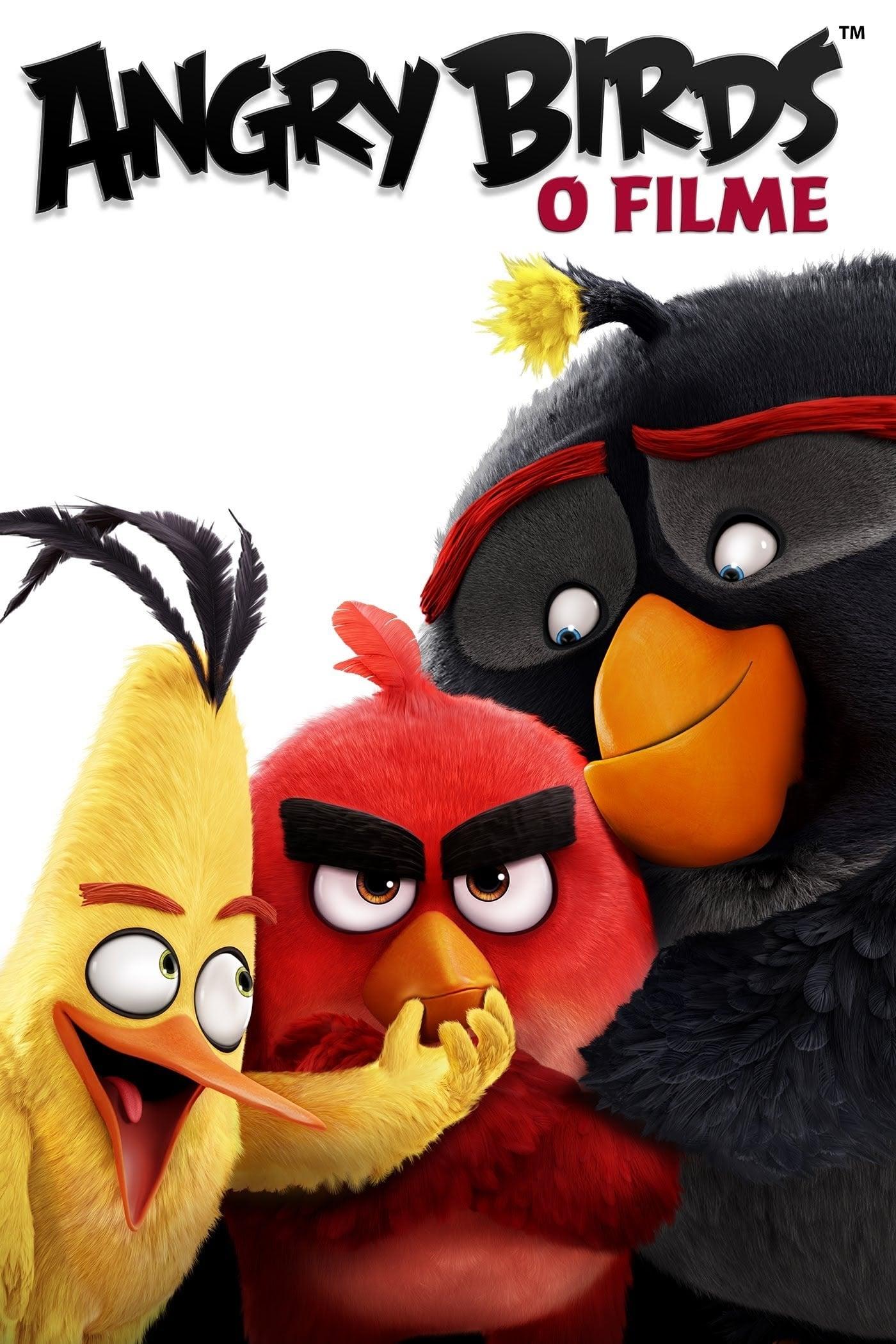 capa Angry Birds: O Filme