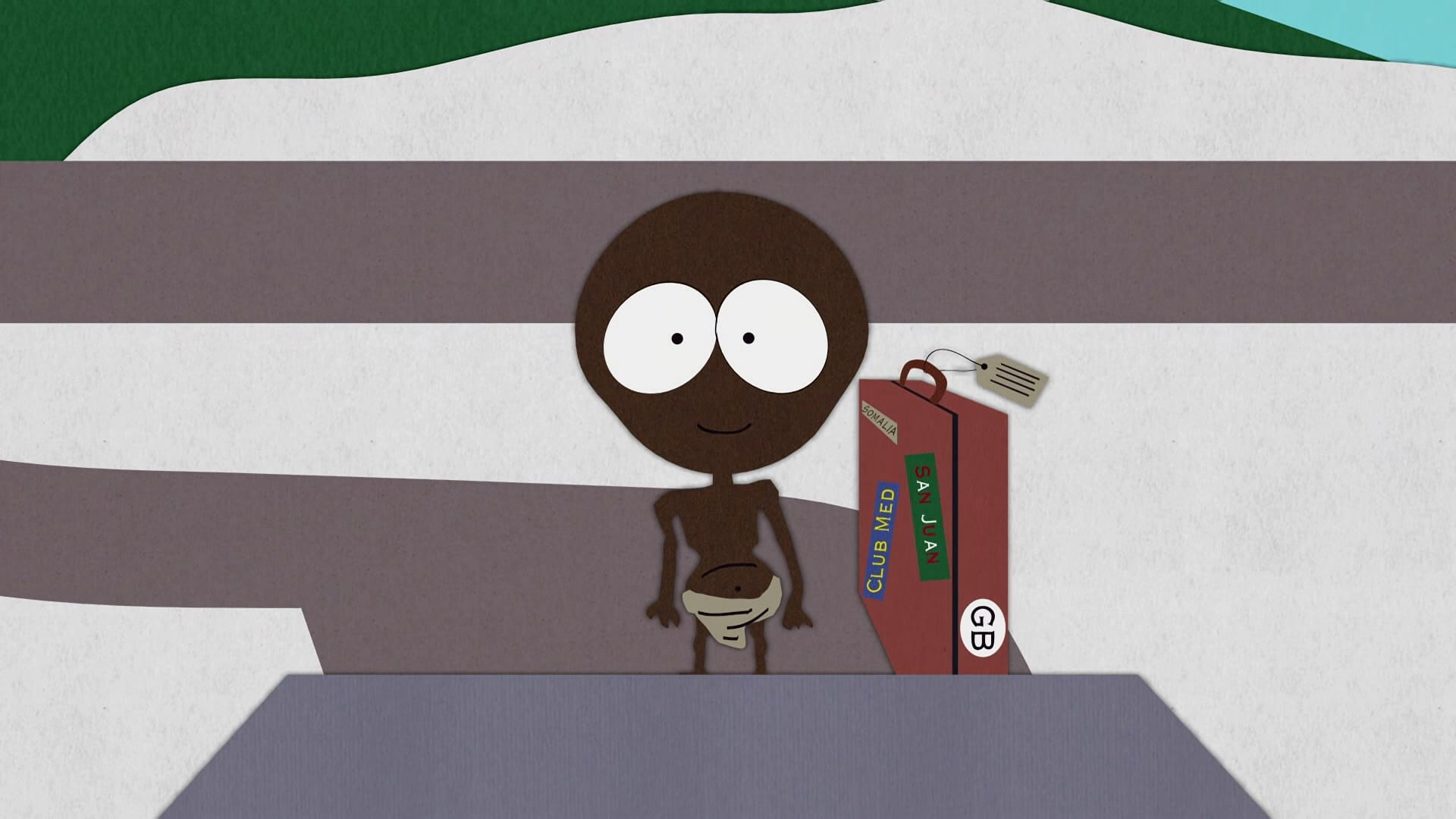 South Park Season 1 :Episode 8  Starvin' Marvin