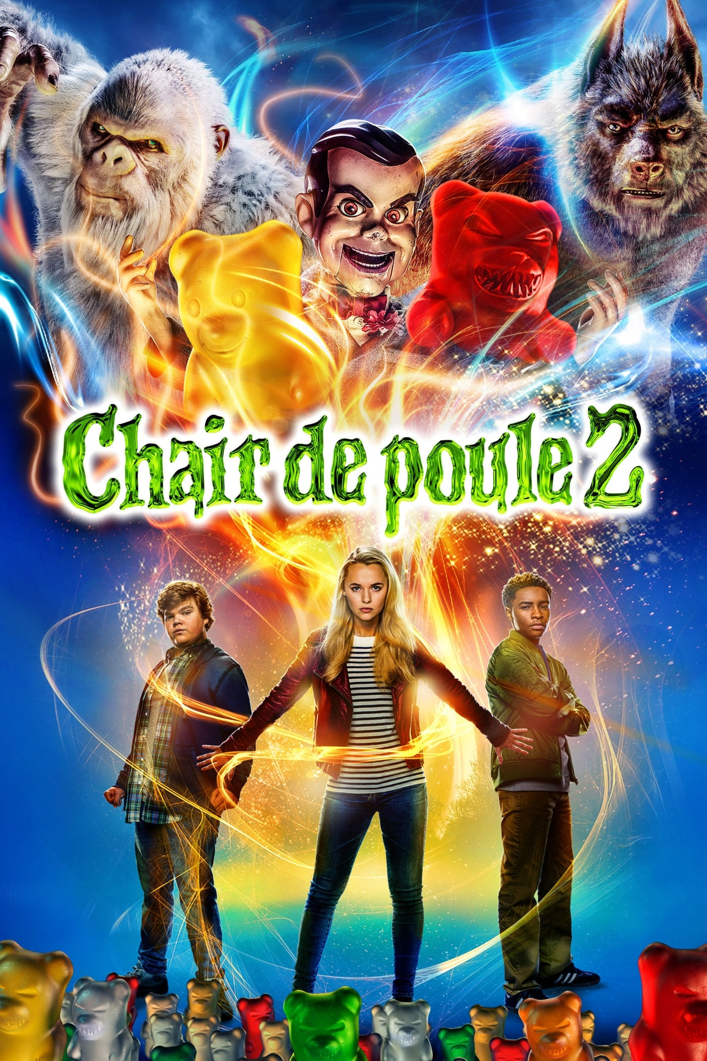 voir film Chair de poule 2 : Les Fantômes d'Halloween streaming