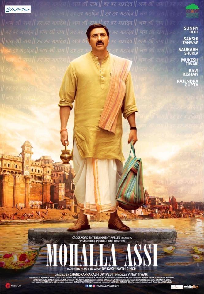 Mohalla Assi (2018) Hindi 480p HDRip x264 ESubs [300MB]