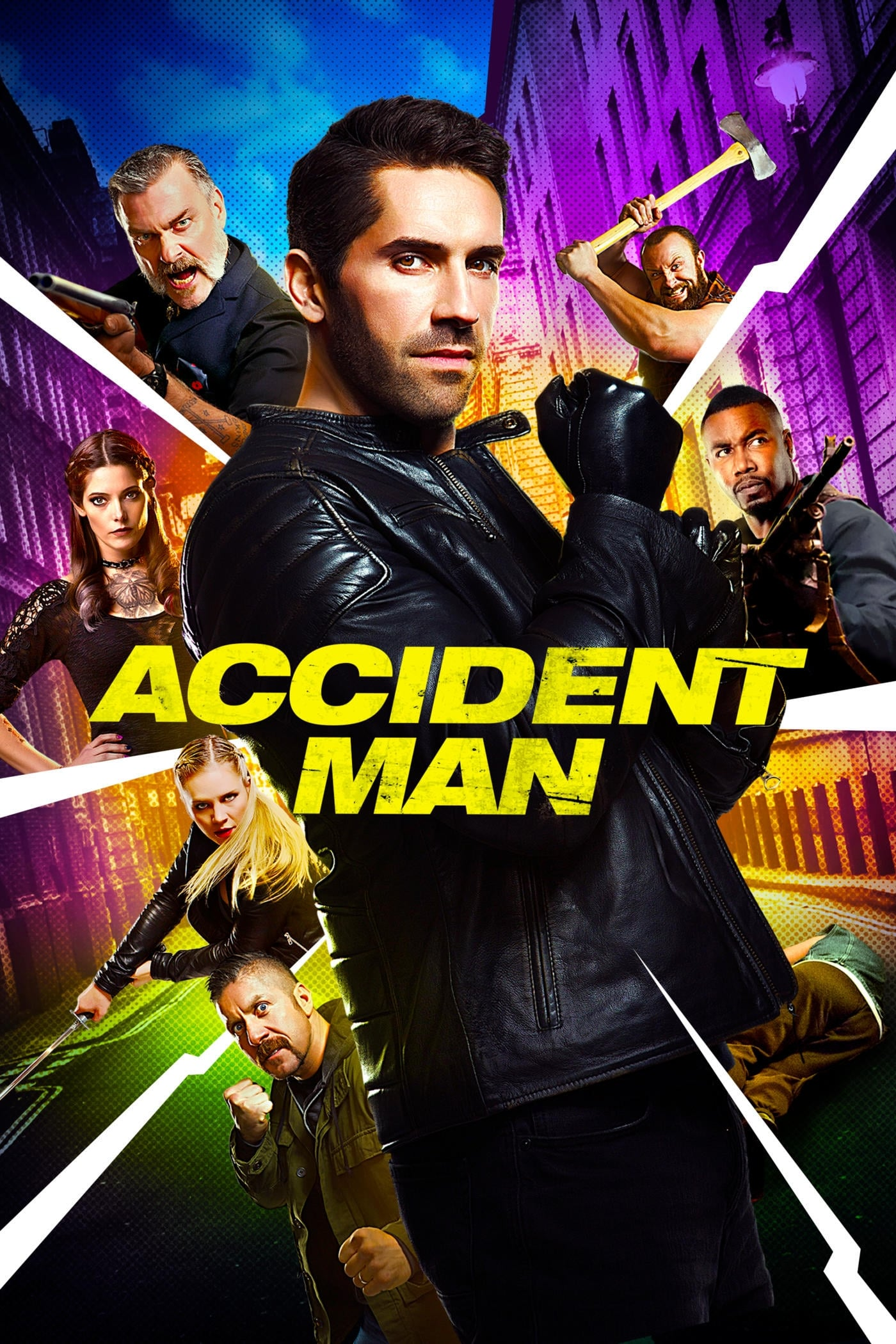 Póster Accident man
